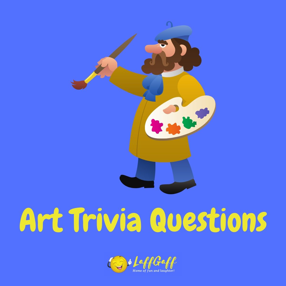Featured image for a page of art trivia questions and answers.