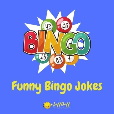 Featured image for a page of funny bingo jokes and puns.