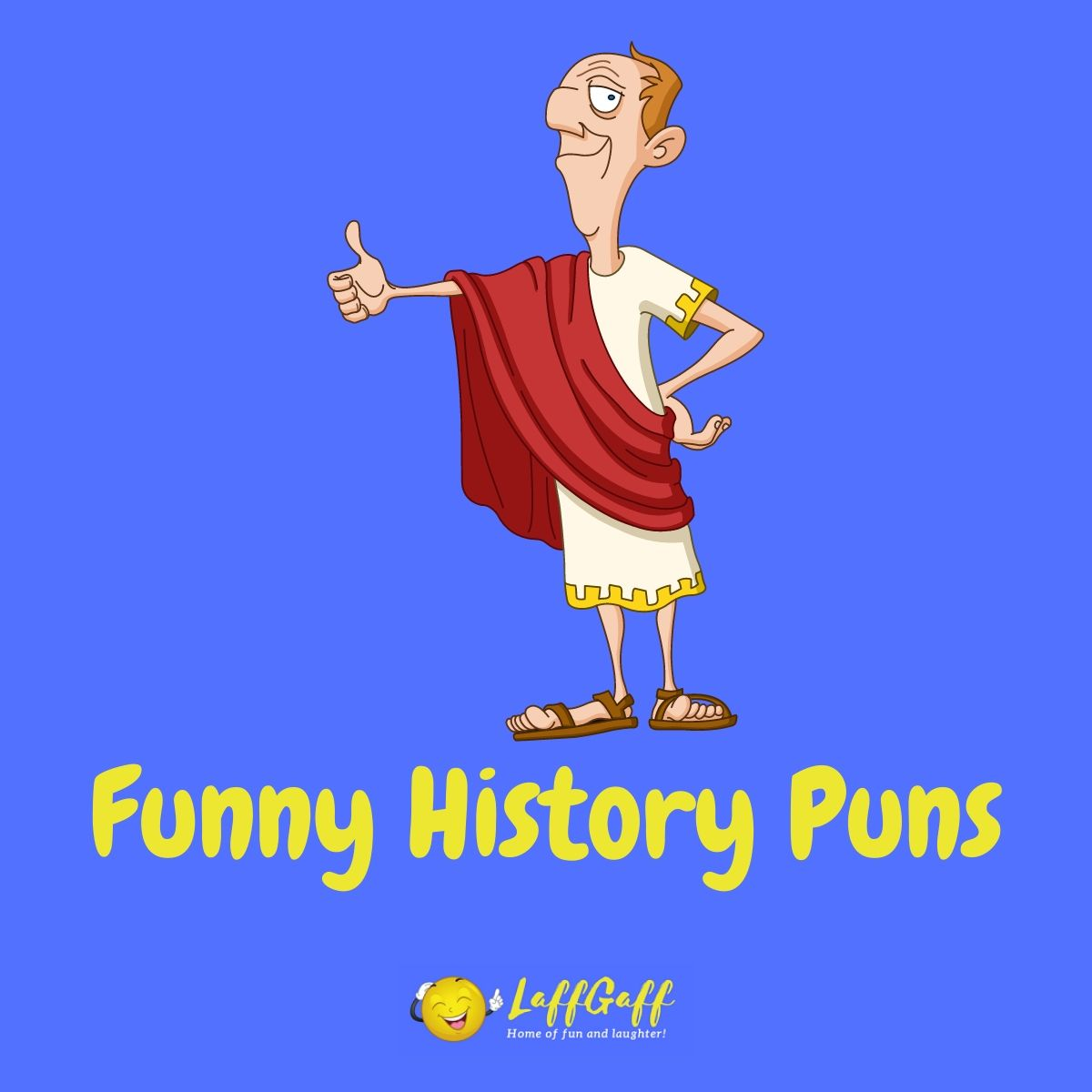 Featured image for a page of so-bad-they're-funny history puns.