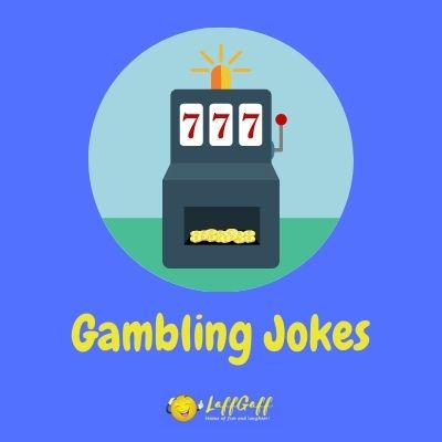 Featured image for a page of funny gambling jokes and puns.