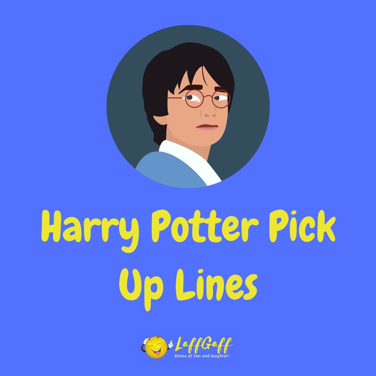 Featured image for a page of funny Harry Potter pick up lines.