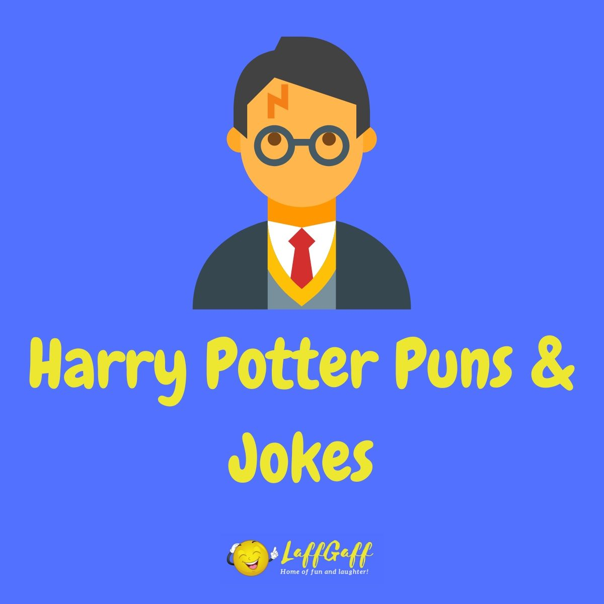 Featured image for a page of Harry Potter puns and jokes.