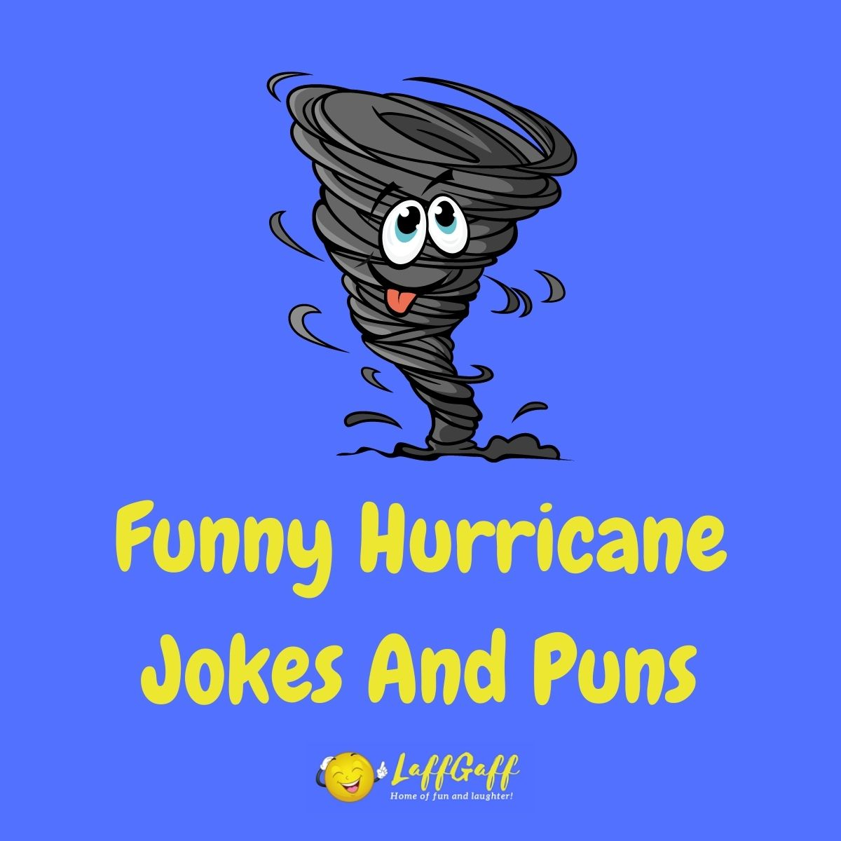 Featured image for a page of hilarious hurricane jokes.