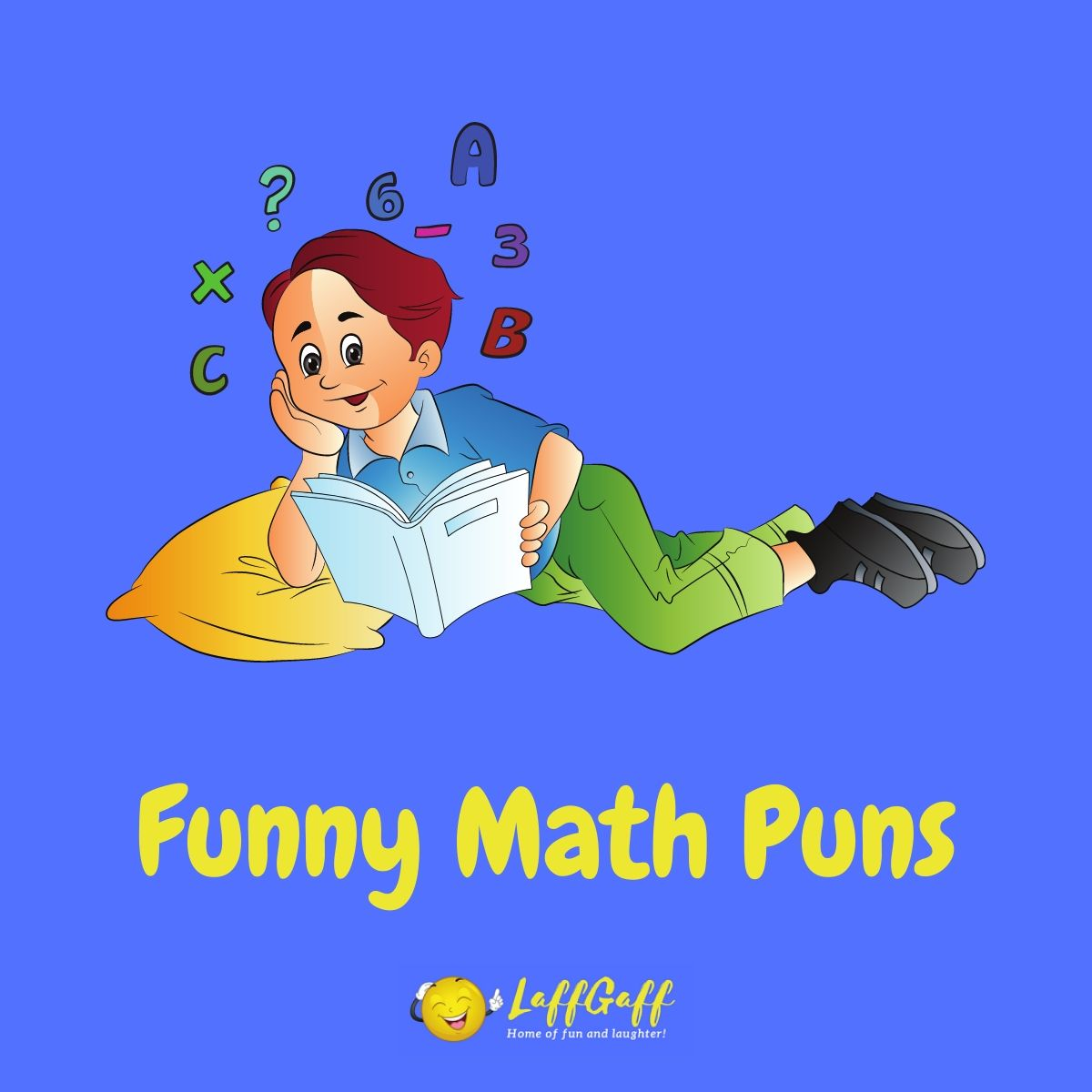 Featured image for a page of funny math puns.