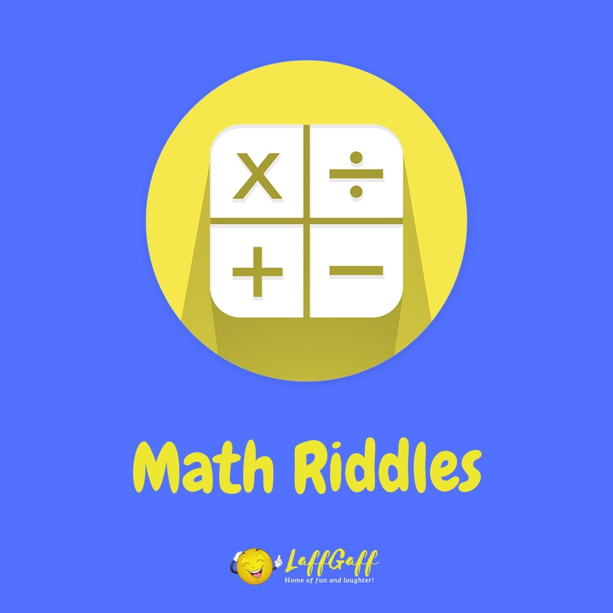 Featured image for a page of fun free math riddles.