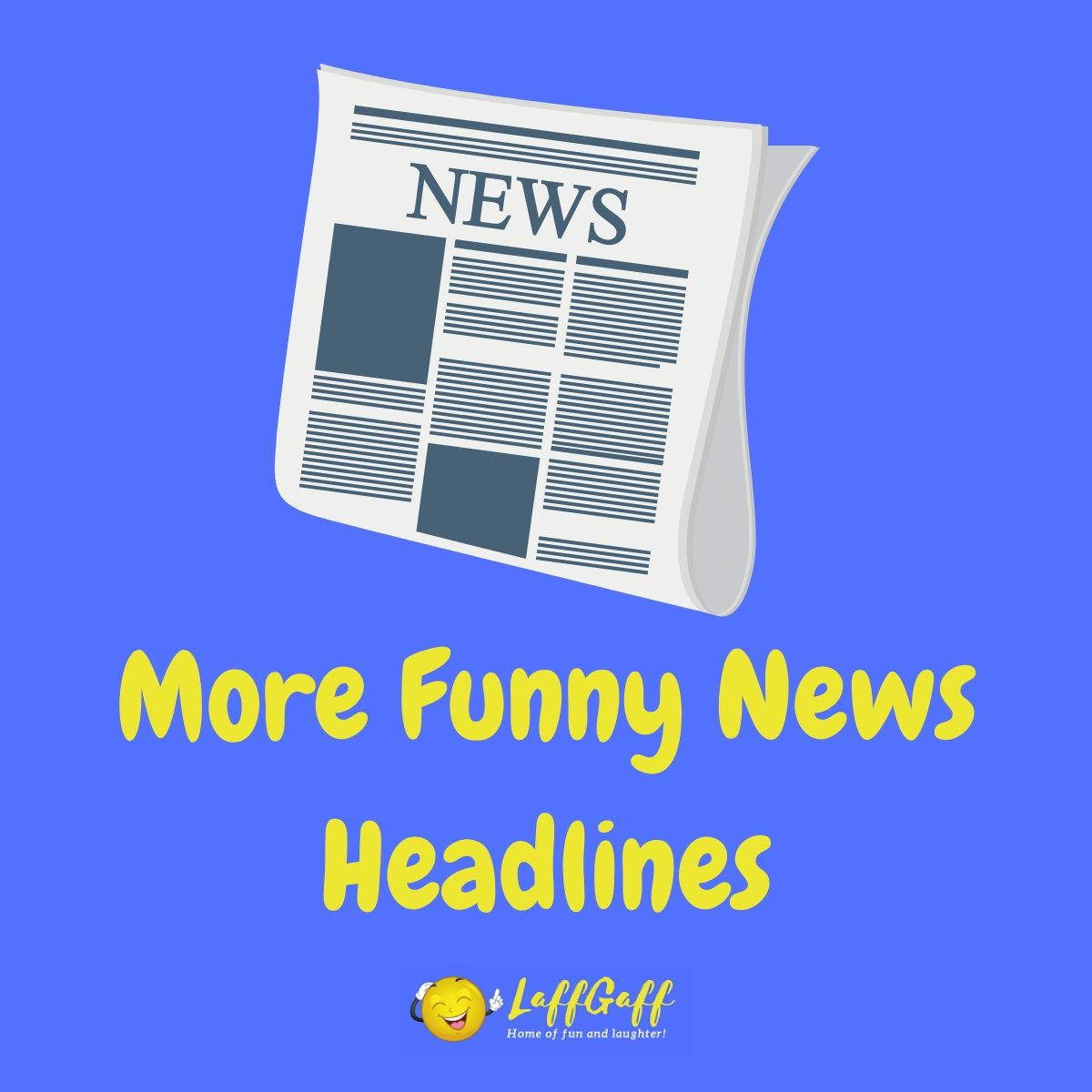 Featured image for a page of more funny news headlines.