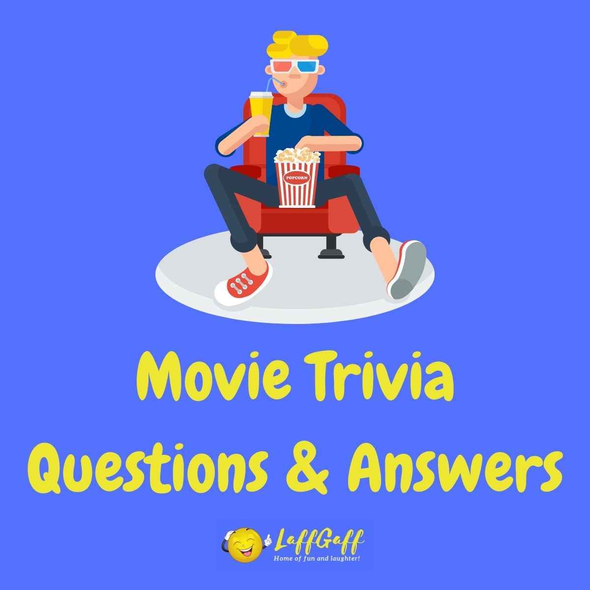 Featured image for a page of fun free movie trivia questions and answers.