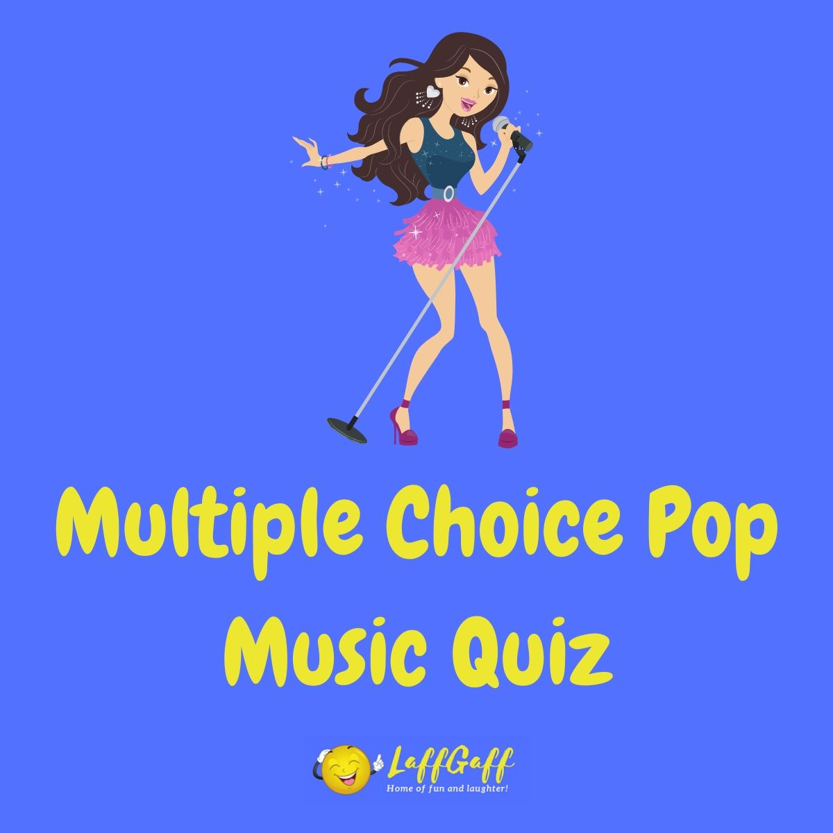 Featured image for a page with a multiple choice pop music quiz.