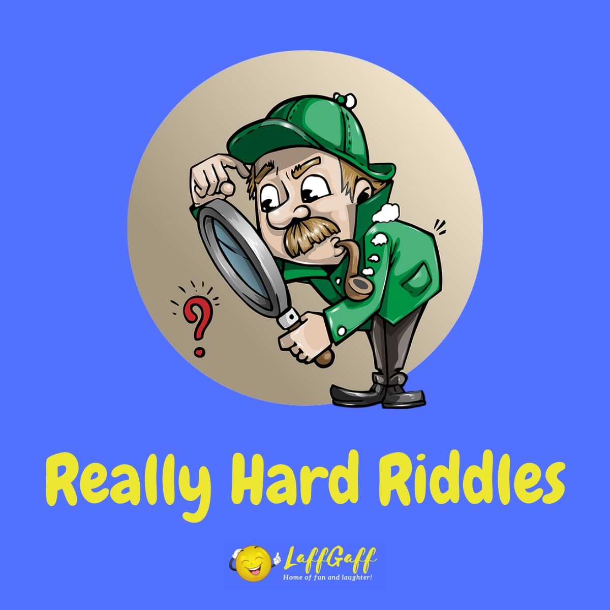 Featured image for a page of really hard riddles.