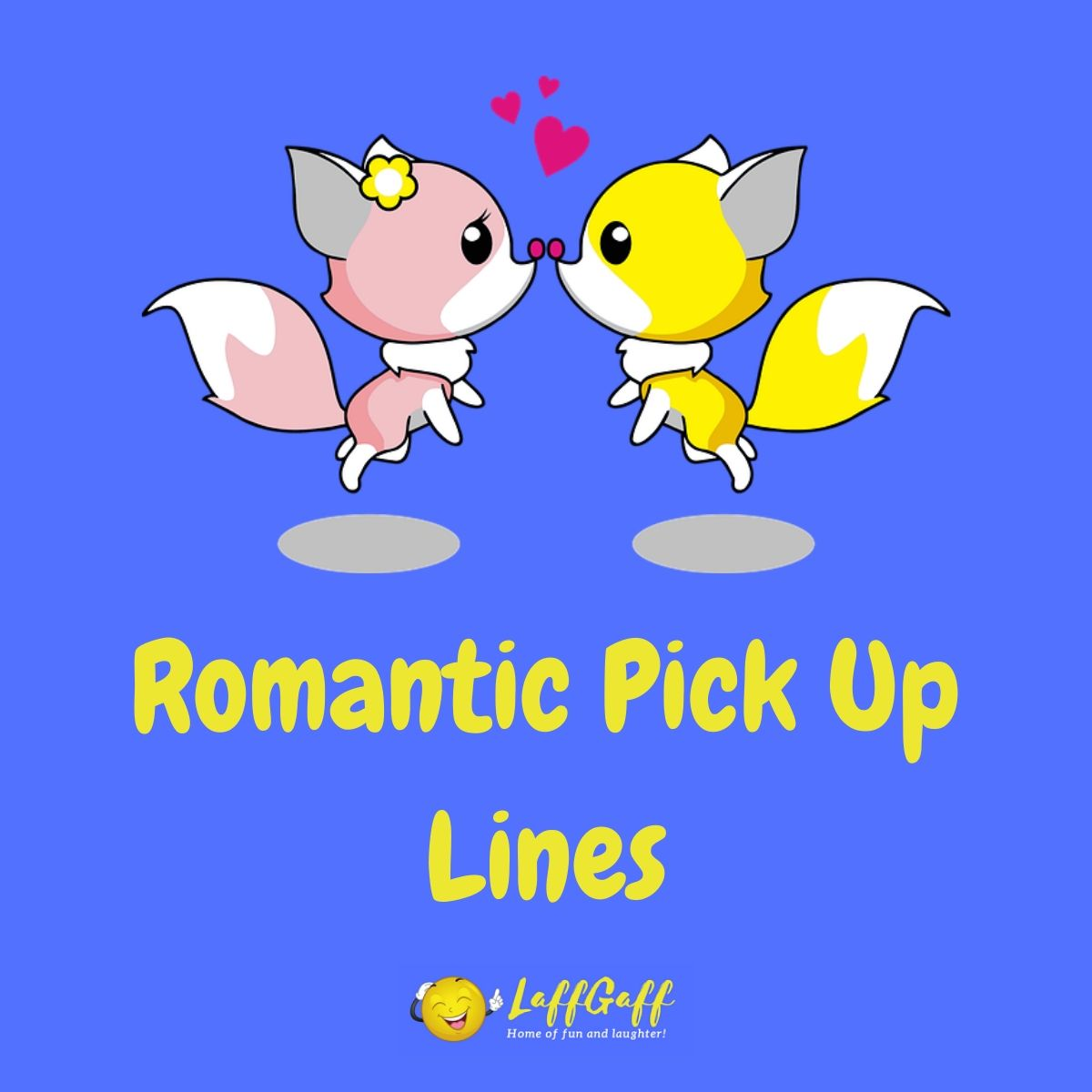 Featured image for a page of romantic pick up lines.