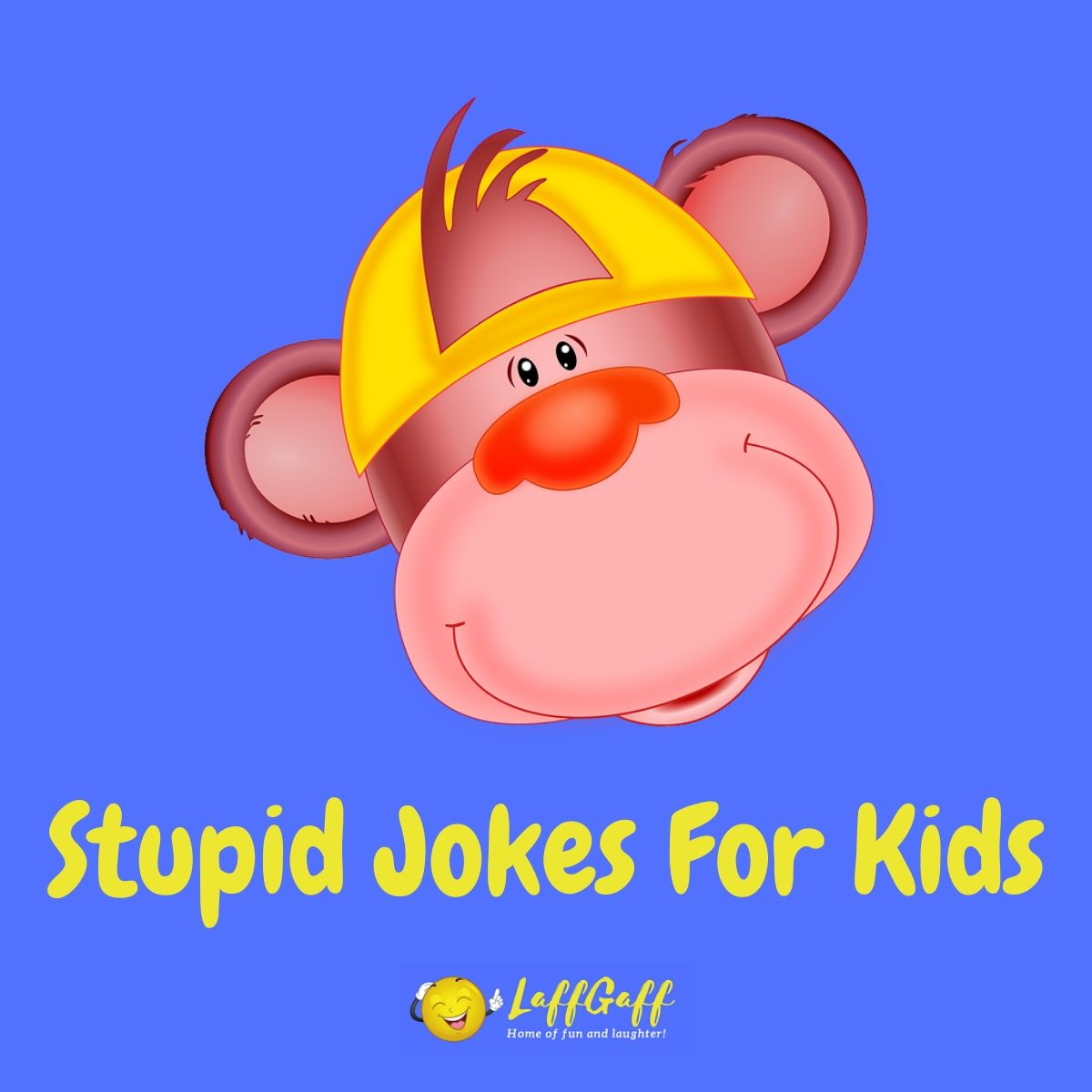 Featured image for a page of stupid jokes for kids.