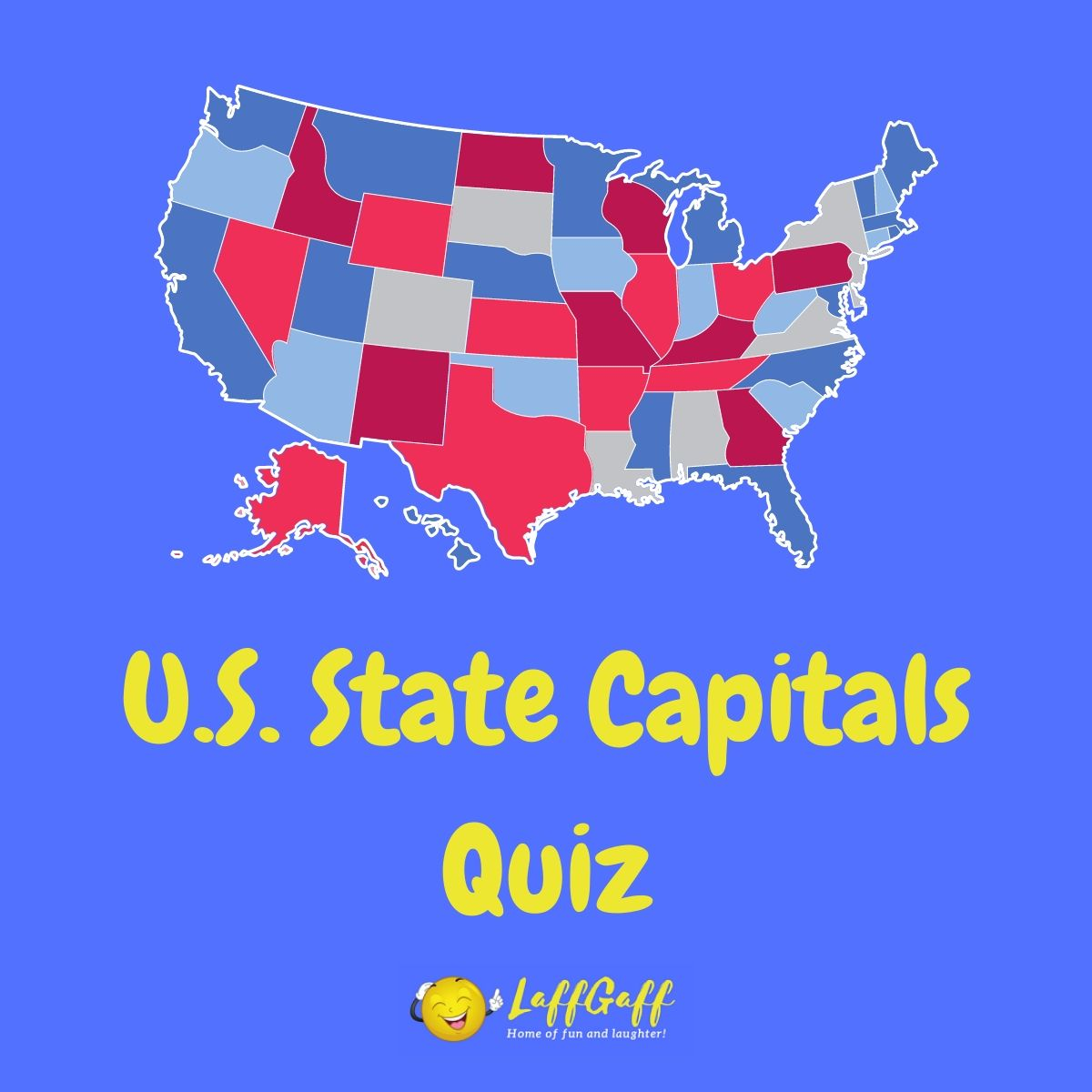 Featured image for a page with a U.S. state capitals quiz.