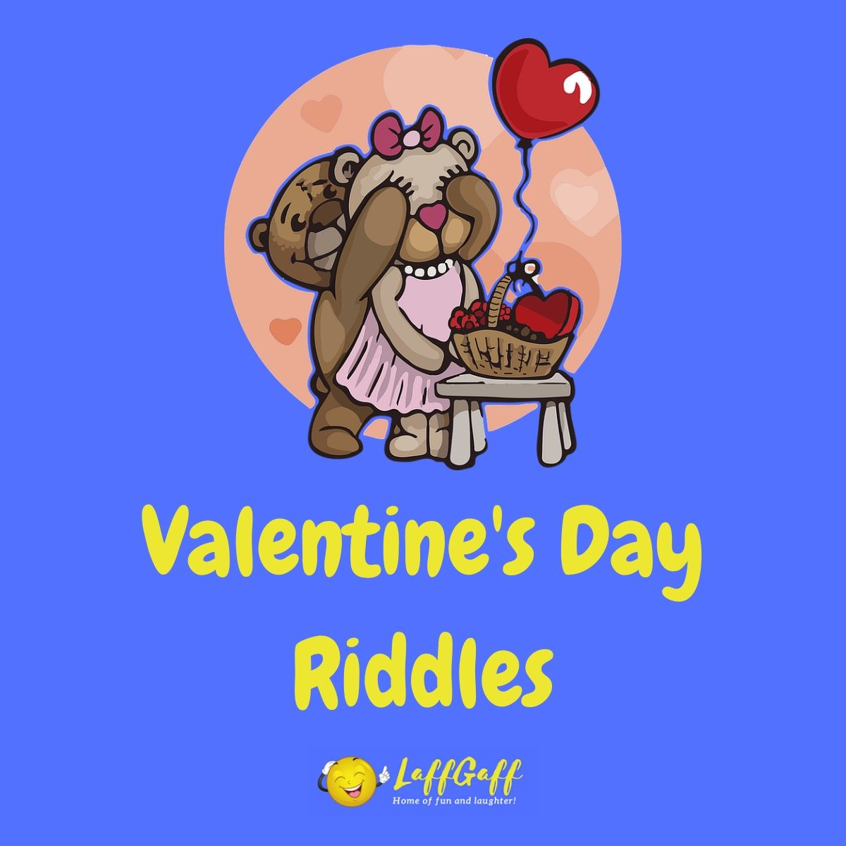 Featured image for a page of Valentine's Day riddles.
