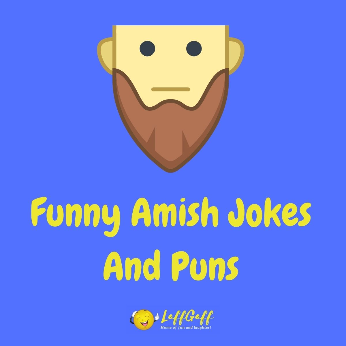 Featured image for a page of funny Amish jokes and puns.