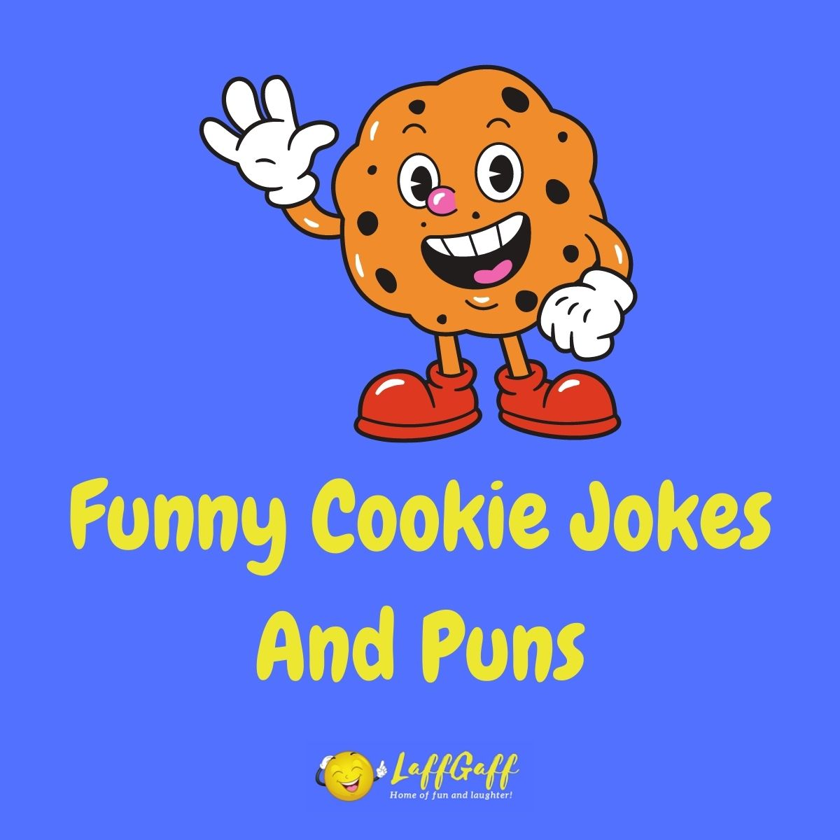 Featured image for a page of funny cookie jokes and puns.