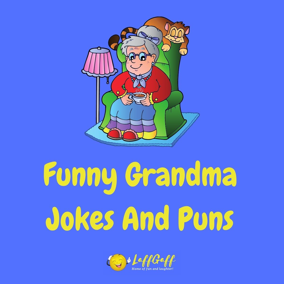 Featured image for a page of funny grandma jokes.