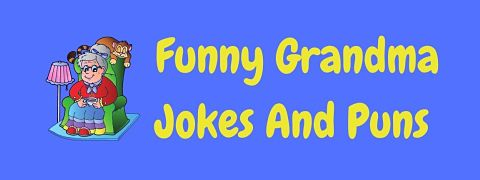 Header image for a page of funny grandma jokes.