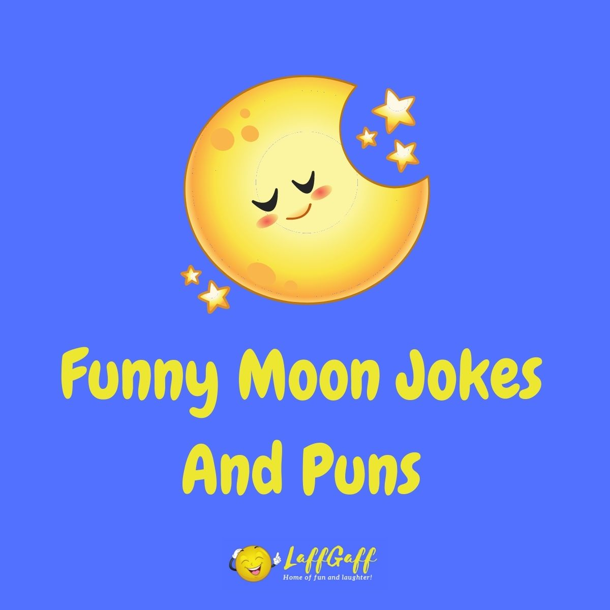 Featured image for a page of funny moon jokes and puns.