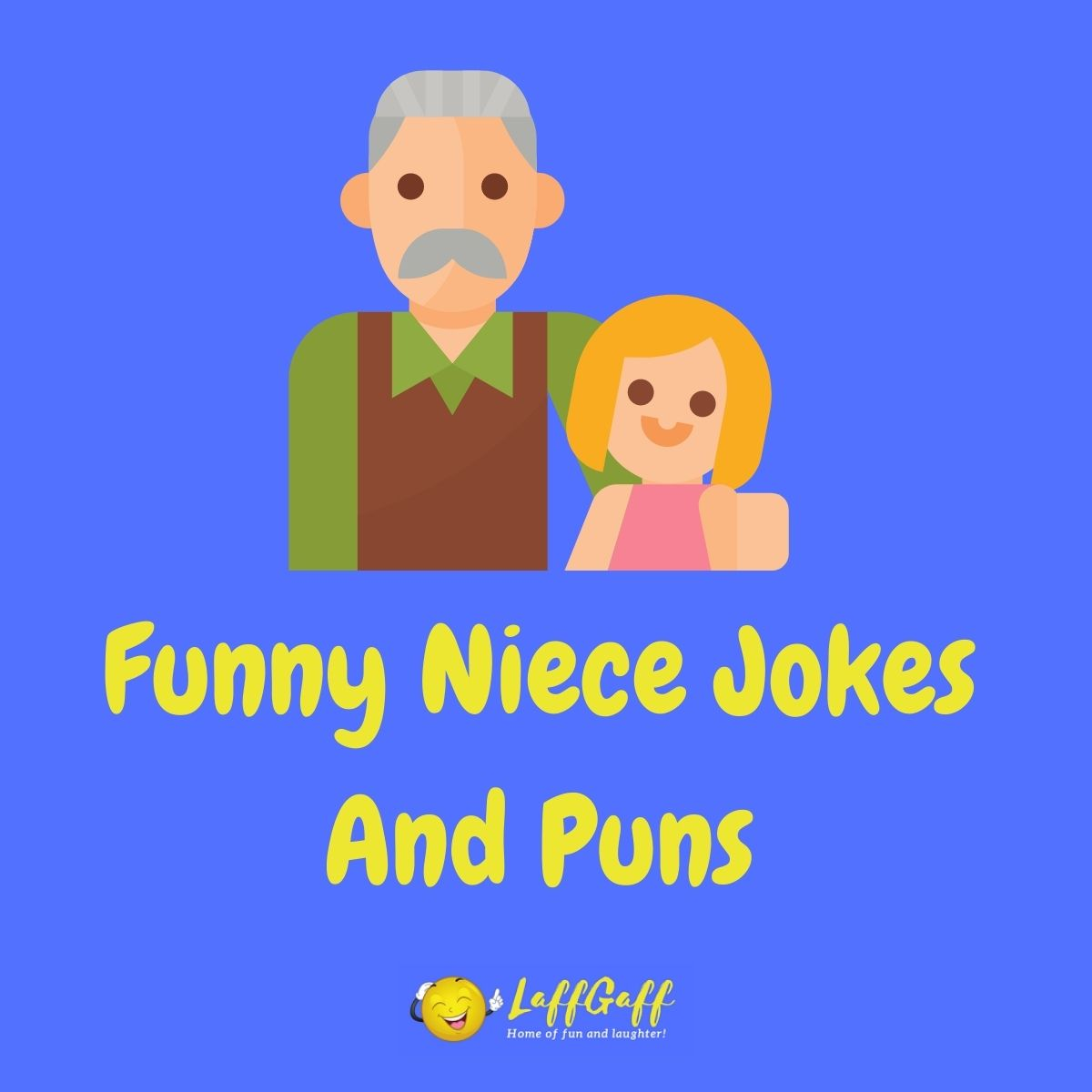 Featured image for a page of funny niece jokes and puns.