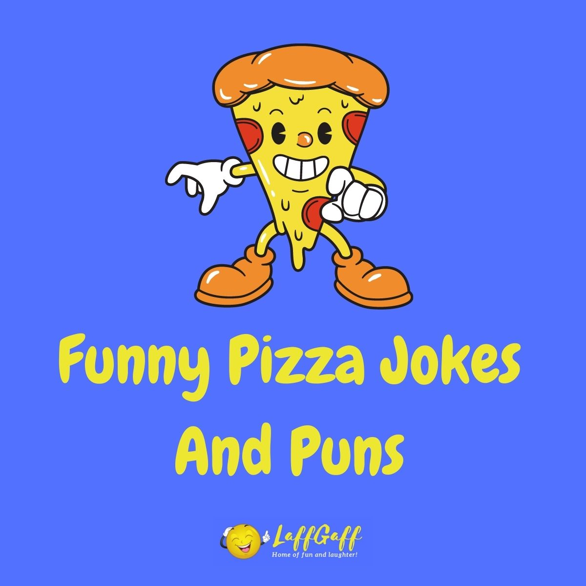 Featured image for a page of funny pizza jokes and puns.