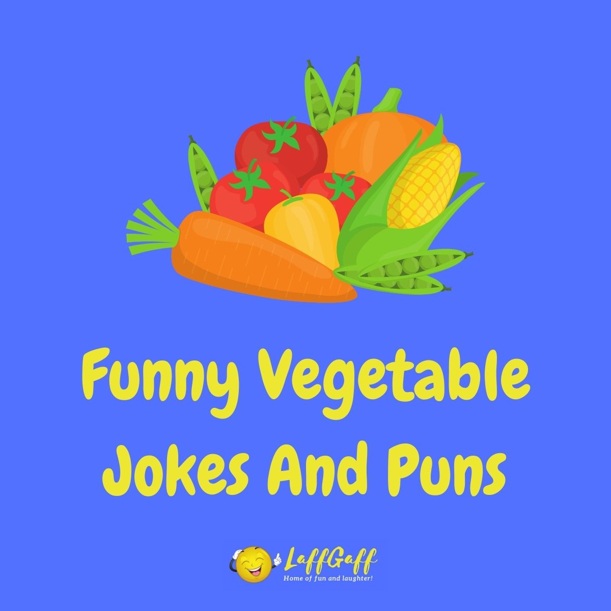 Featured image for a page of funny vegetable jokes and puns.