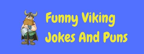 Header image for a page of funny Viking jokes and puns.