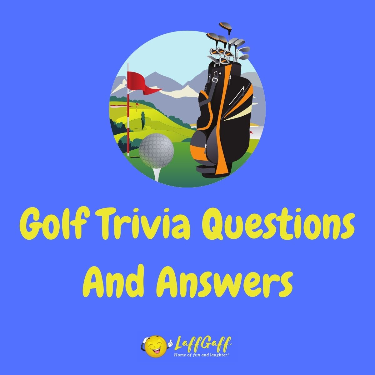 Featured image for a page of golf trivia questions and answers.