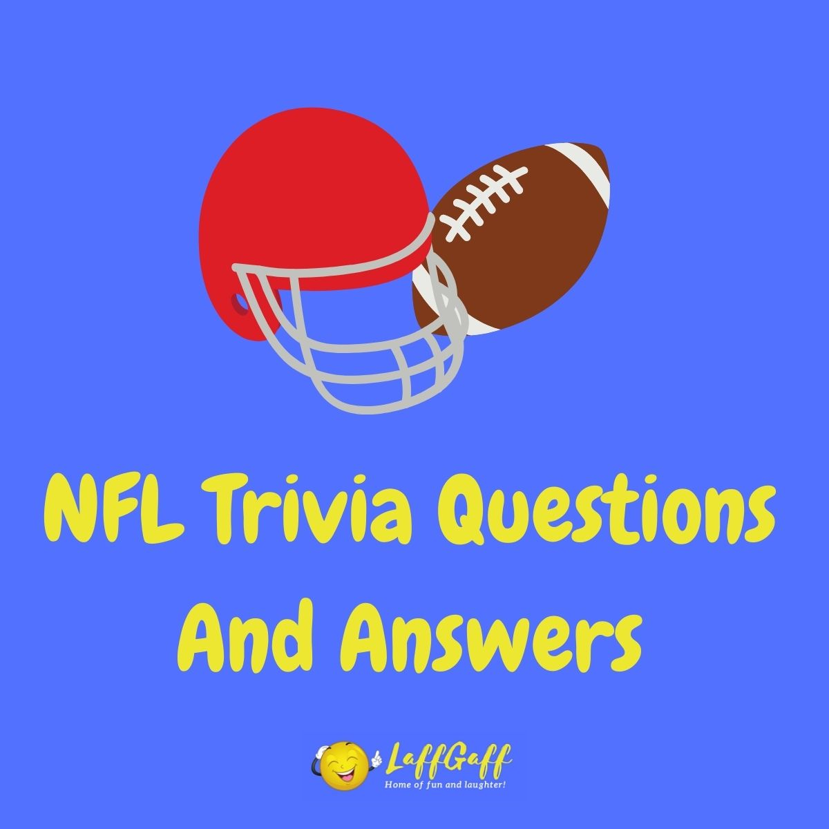 Featured image for a page of NFL trivia questions and answers.