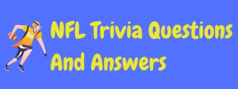 Header image for a page of NFL trivia questions and answers.