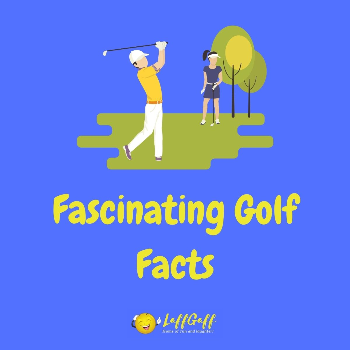 Featured image for a page of fascinating golf facts.