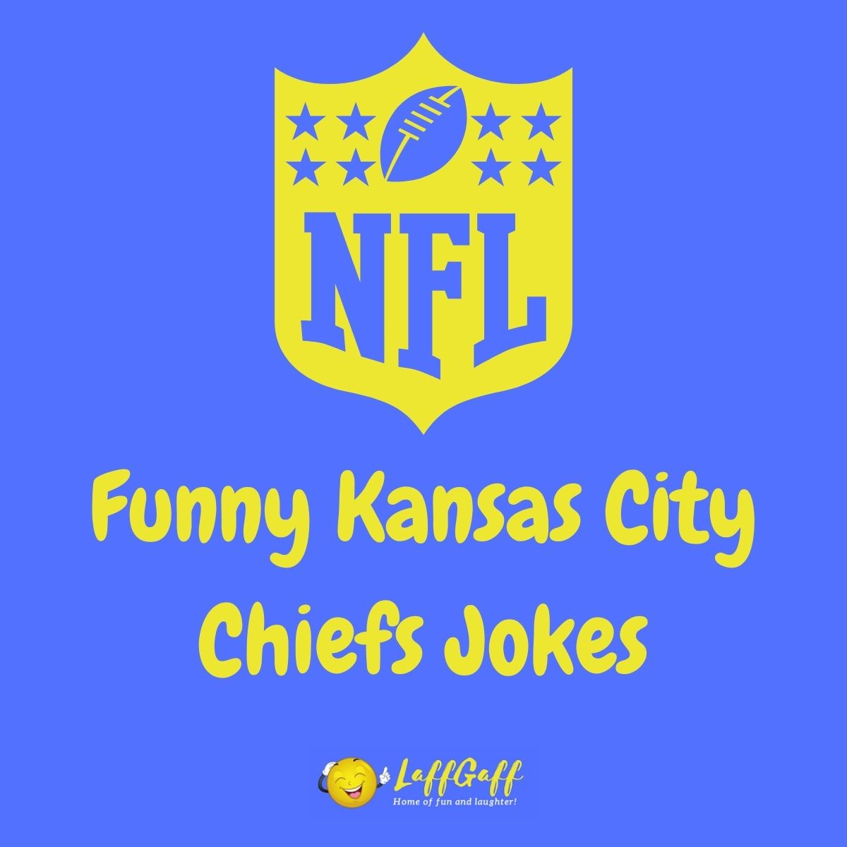 Featured image for a page of funny Kansas City Chiefs jokes.