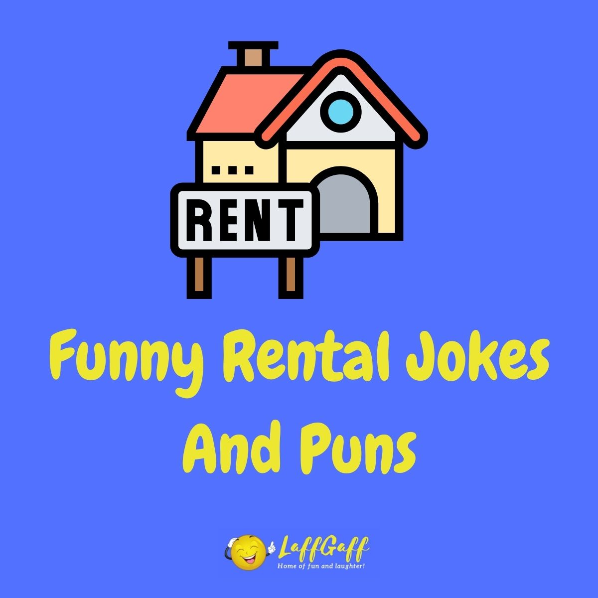 Featured image for a page of funny rental jokes and puns.