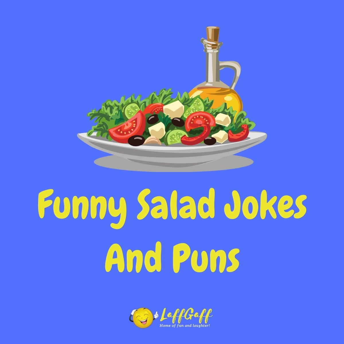 Featured image for a page of funny salad jokes and puns.
