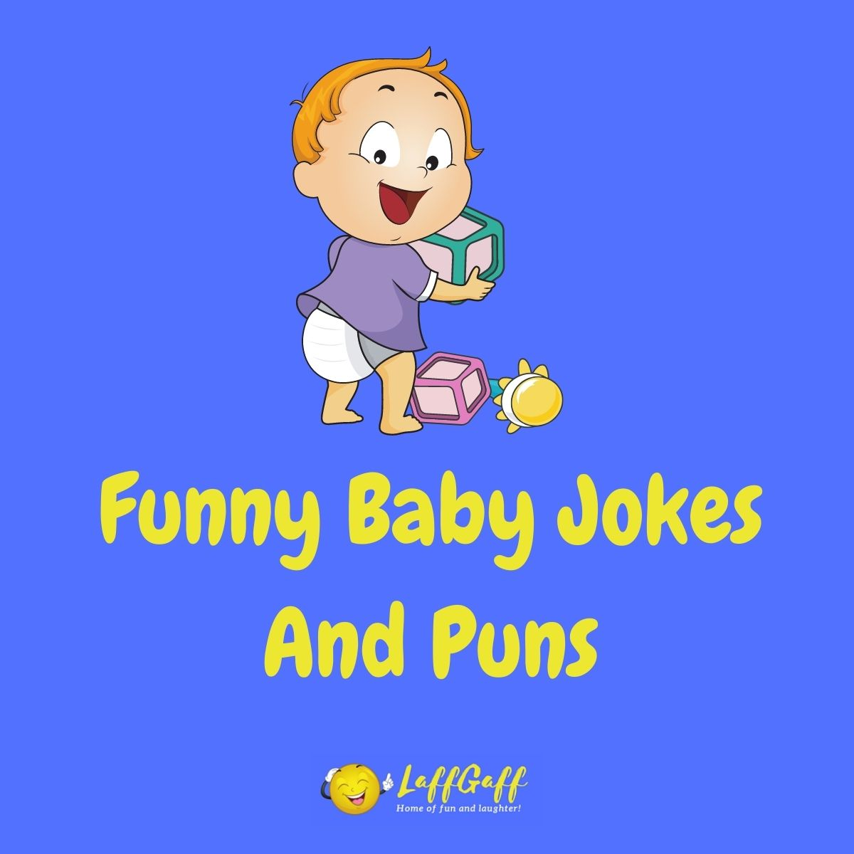 Featured image for a page of funny baby jokes and puns.