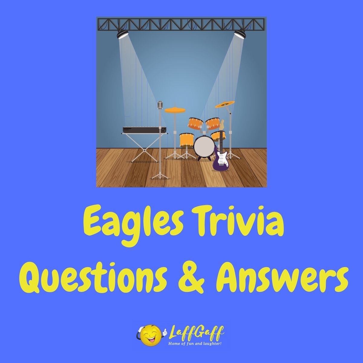 Featured image for a page of Eagles trivia questions and answers.