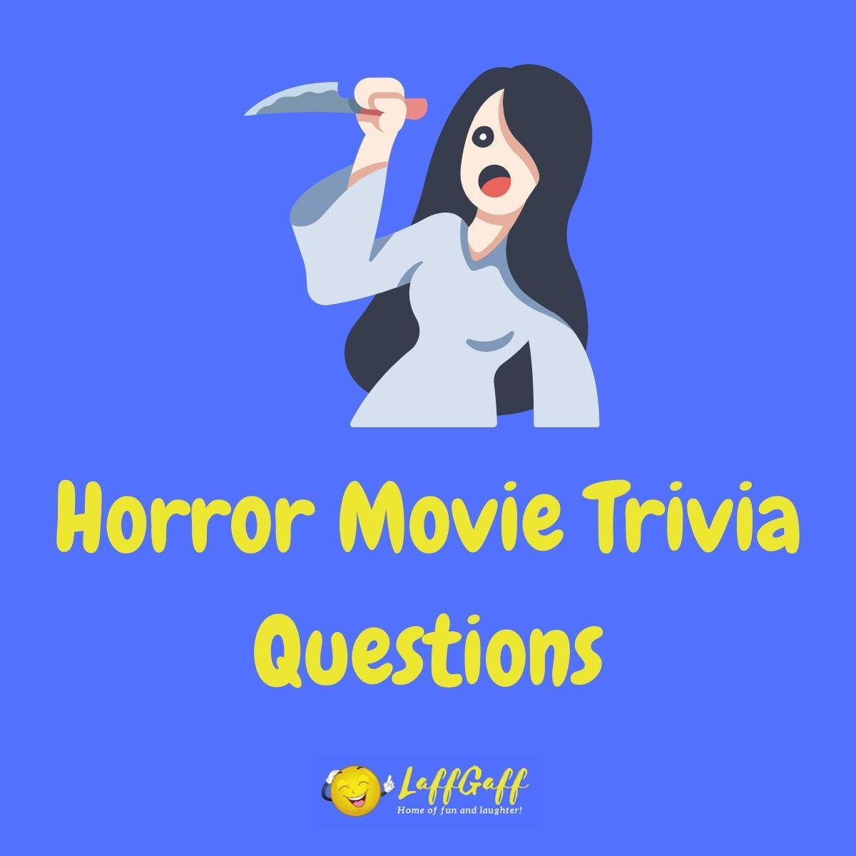 Featured image for a page of horror movie trivia questions and answers.
