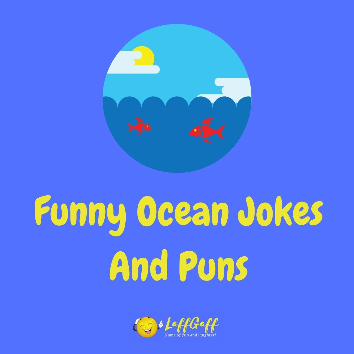 Featured image for a page of funny ocean jokes and puns.