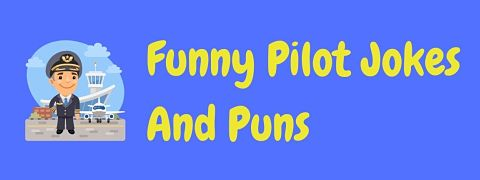Header image for a page of funny pilot jokes and puns.