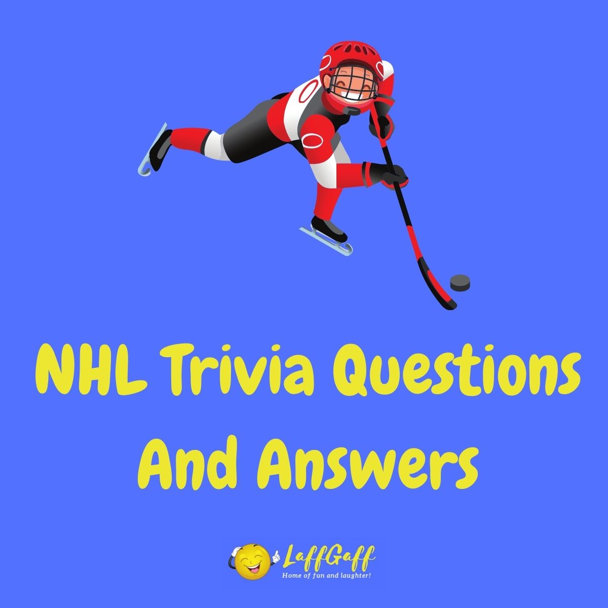 Featured image for a page of NHL trivia questions and answers.