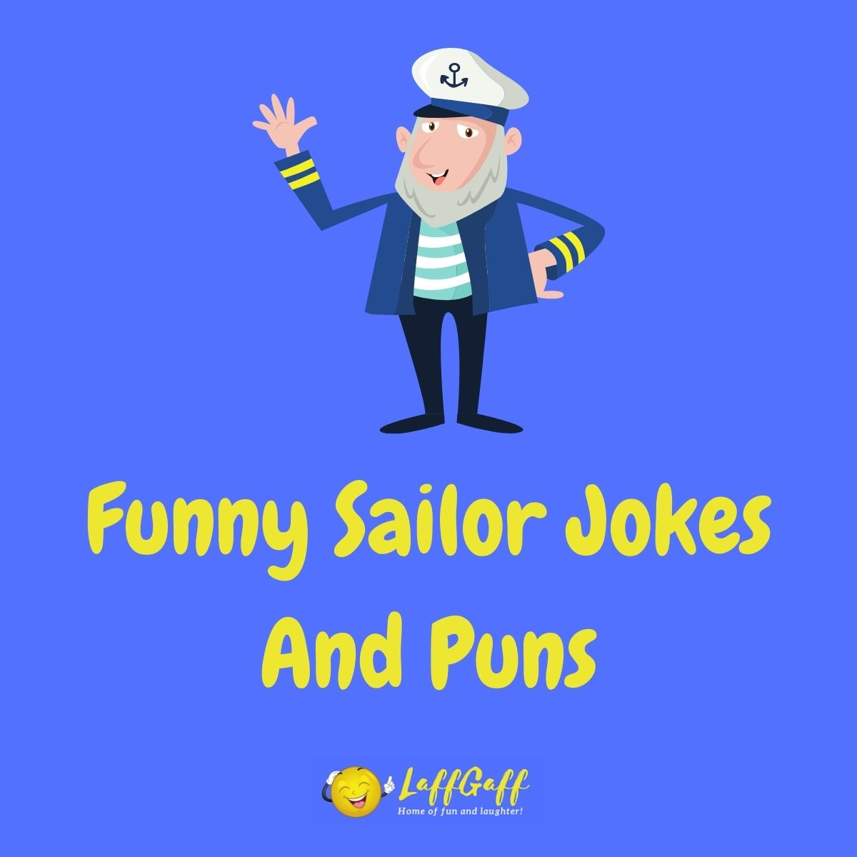 Featured image for a page of funny sailor jokes and puns.