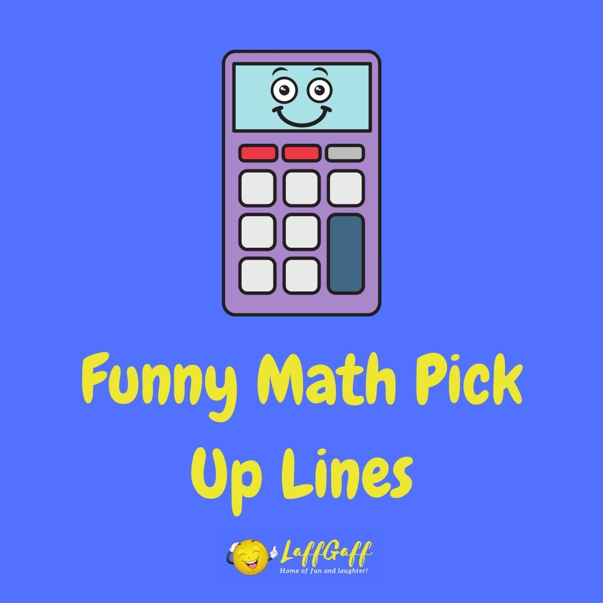 Featured image for a page of funny math pick up lines.