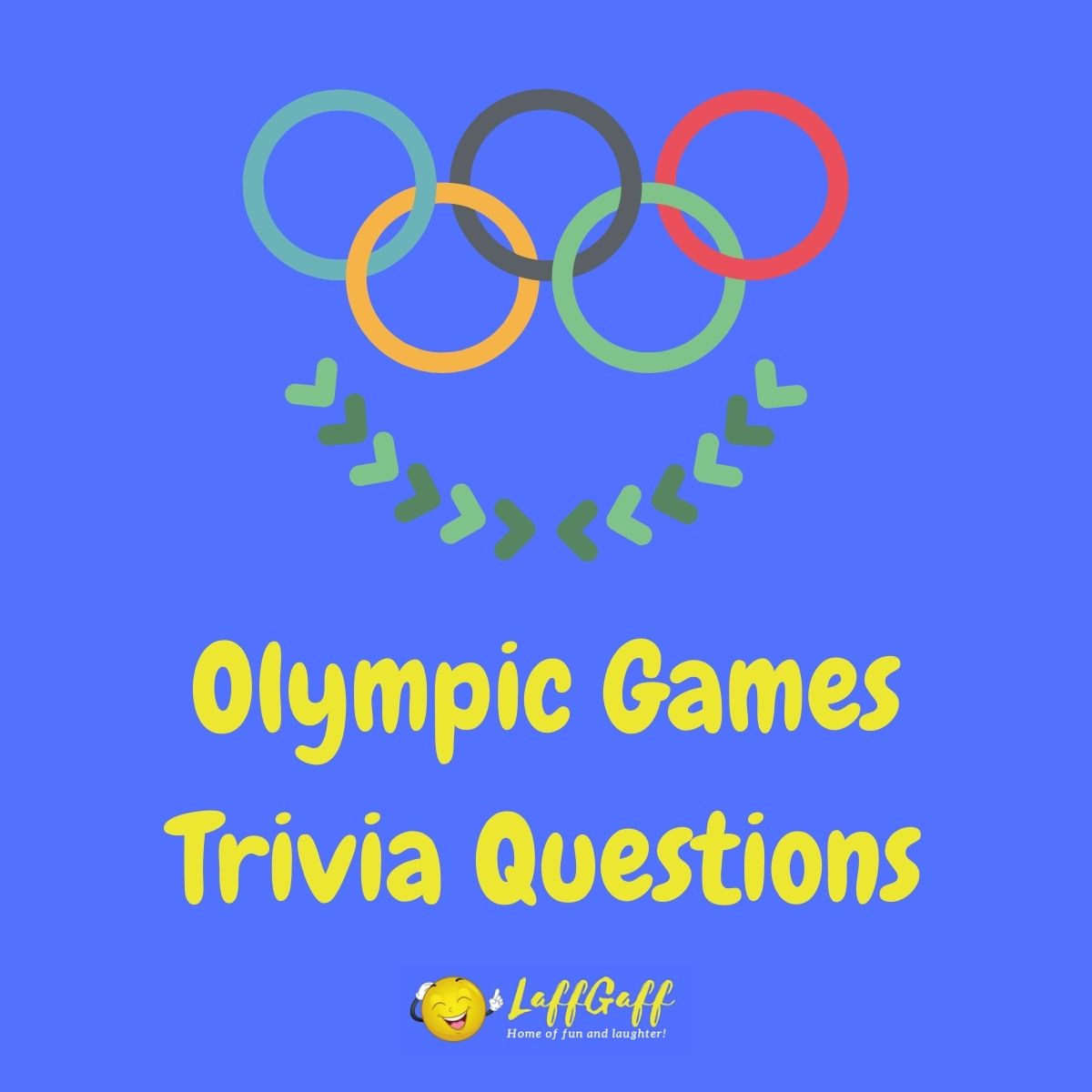 Featured image for a page of Olympic Games trivia questions.