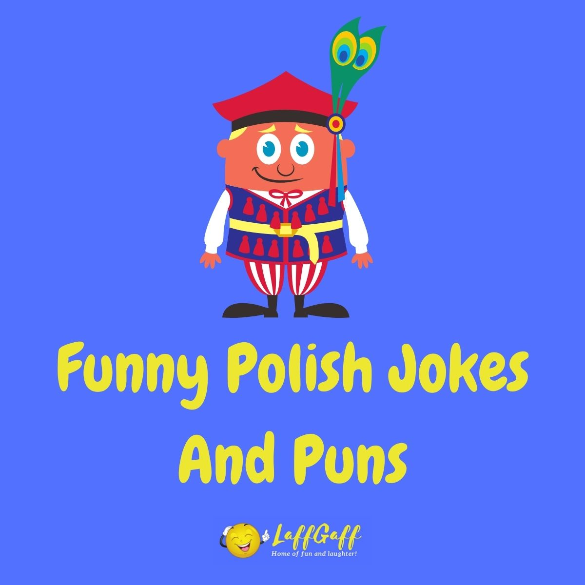 Featured image for a page of funny Polish jokes and puns.