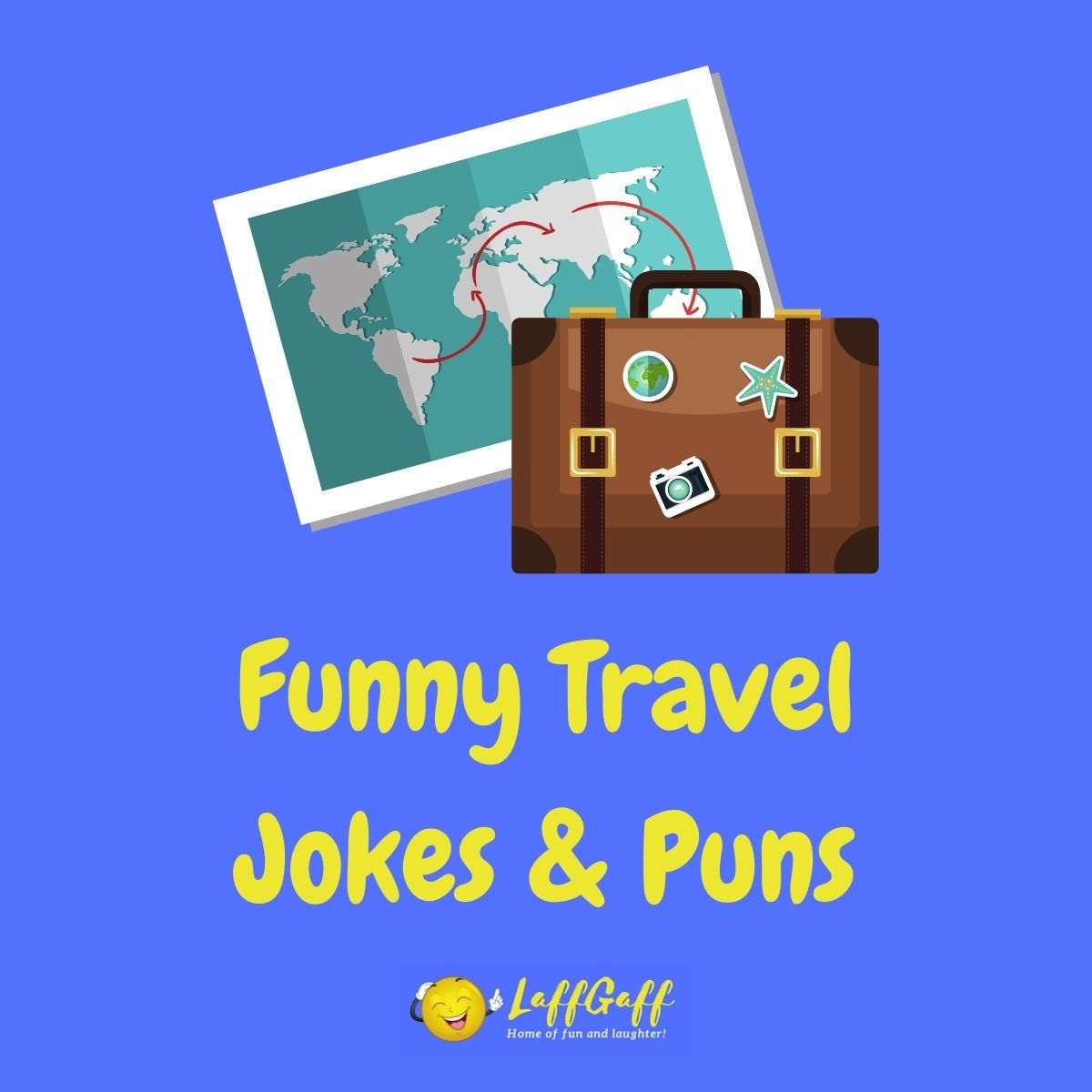 Featured image for a page of funny travel jokes and puns.