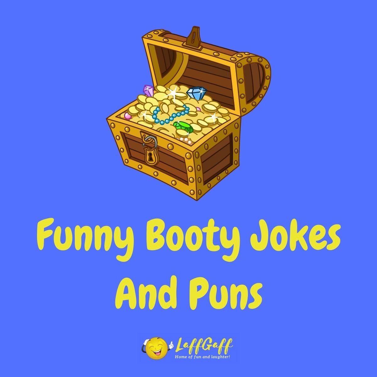 Featured image for a page of funny booty jokes and puns.