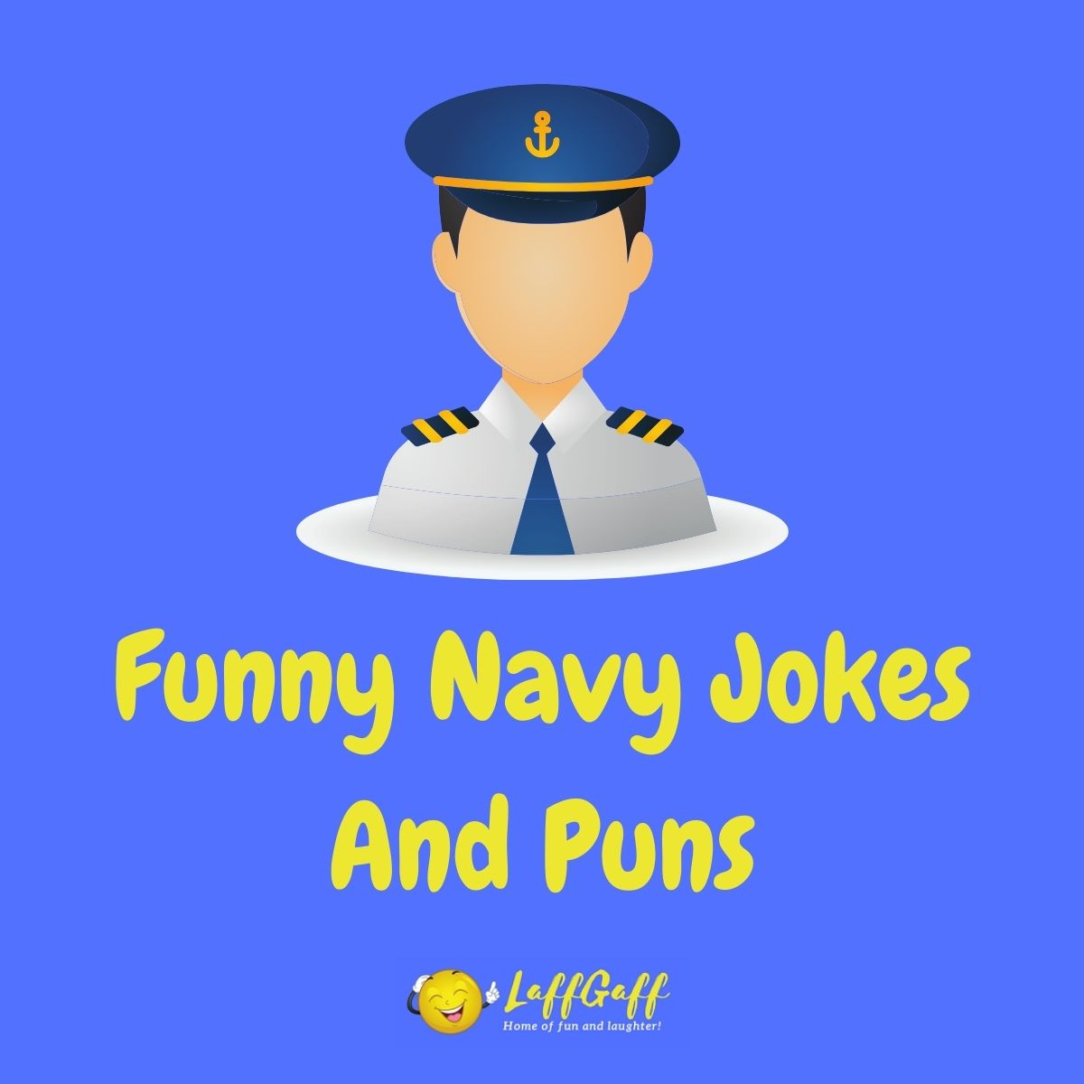 Featured image for a page of funny navy jokes and puns.