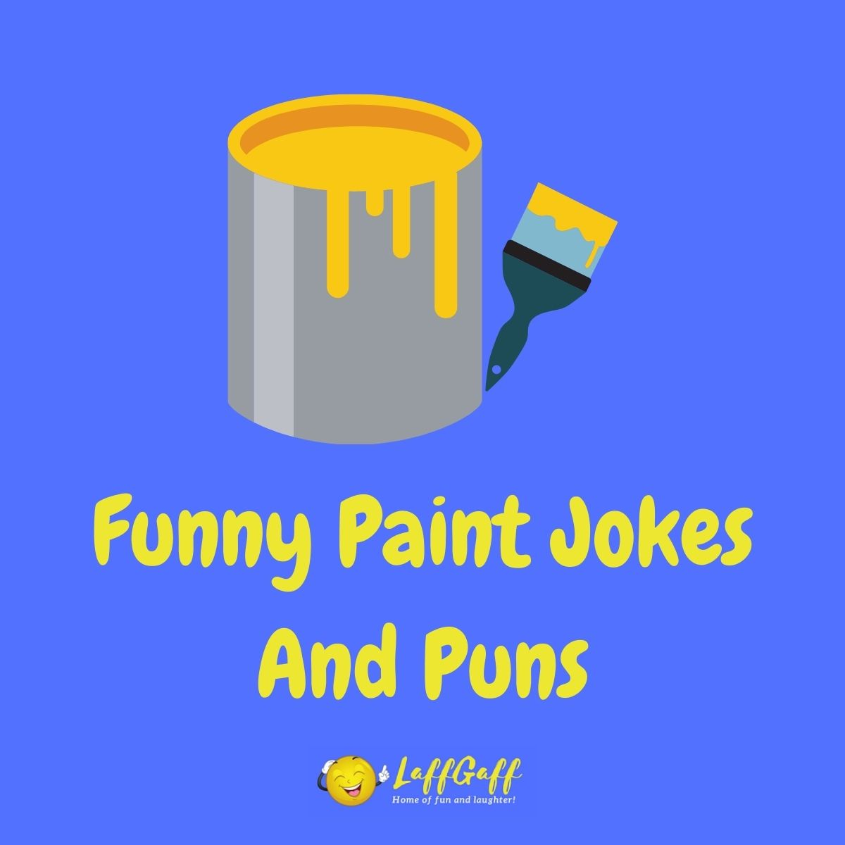 Featured image for a page of funny paint jokes and puns.
