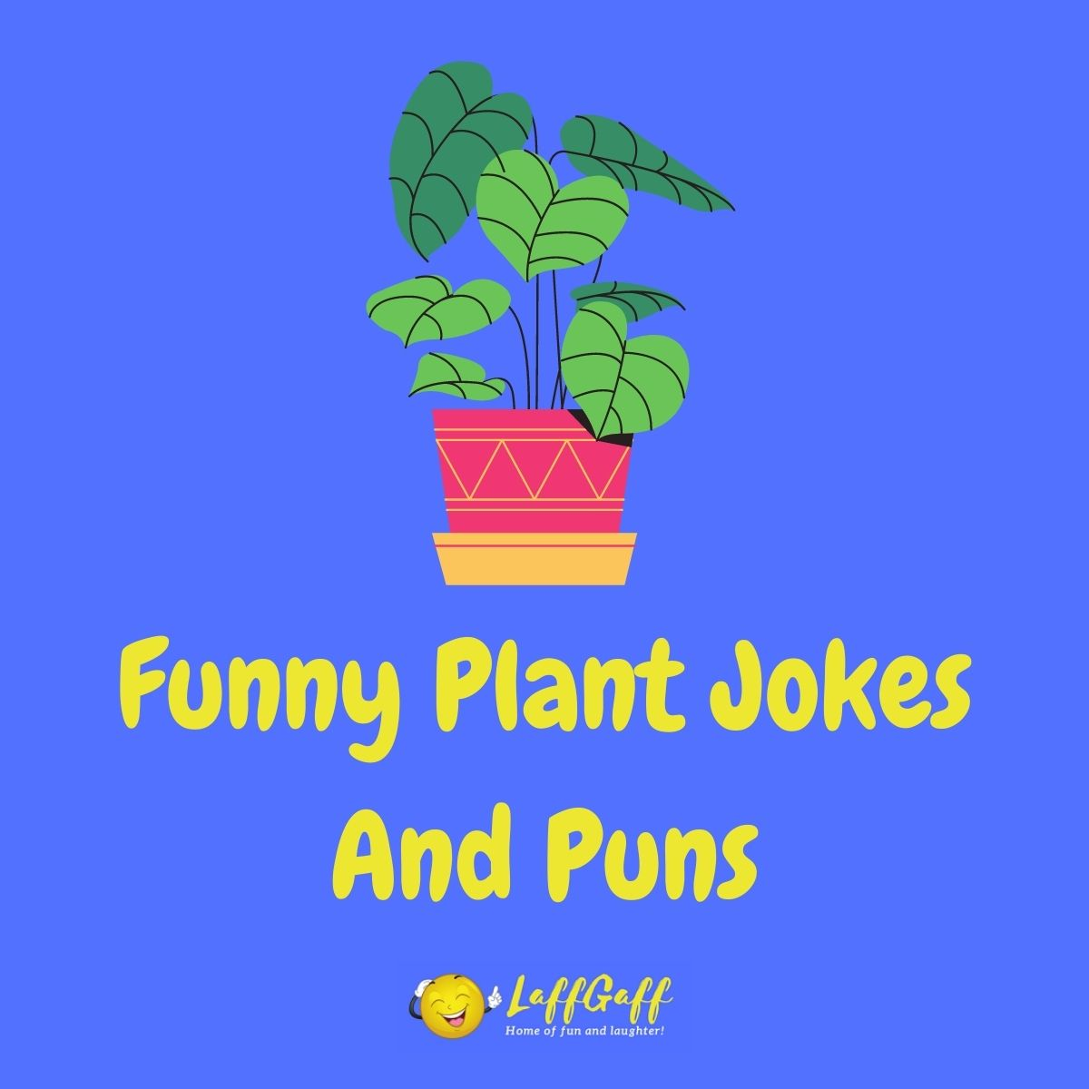 Featured image for a page of funny plant jokes and puns.