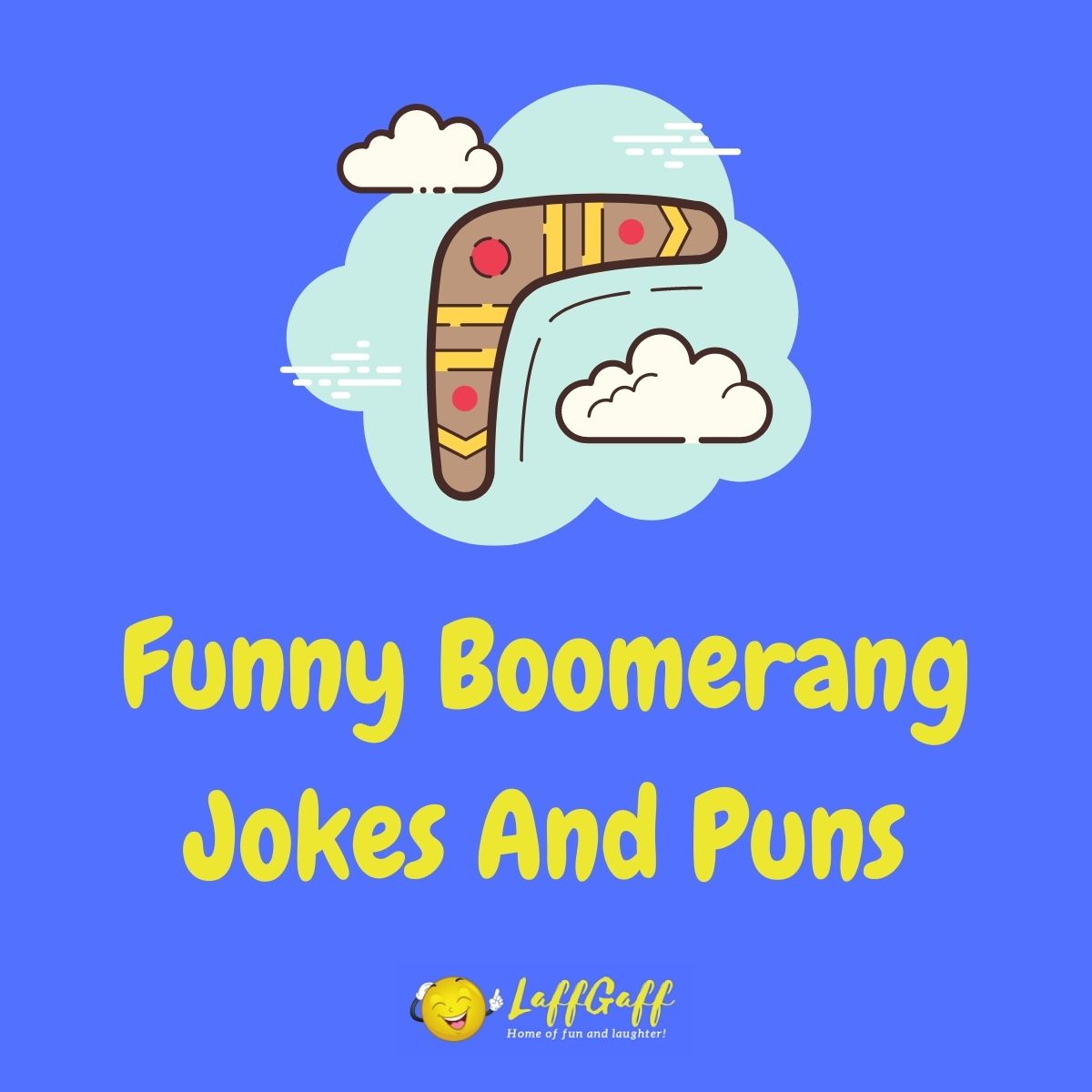 Featured image for a page of funny boomerang jokes and puns.