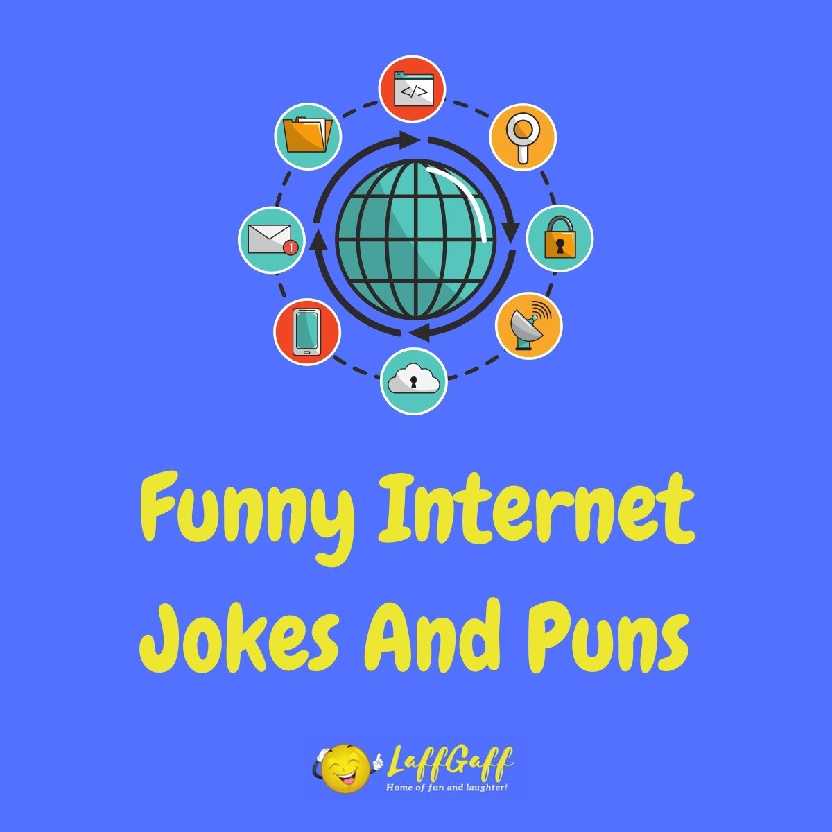 Featured image for a page of funny internet jokes and puns..